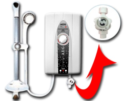 Как работает безнапорный проточный водонагреватель