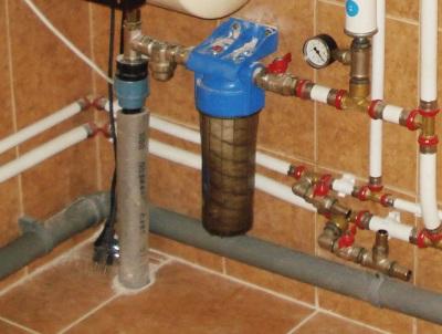 Фильтр для водонагревателя