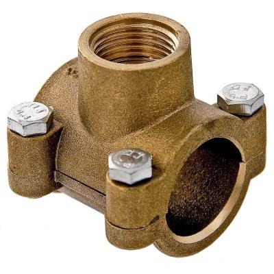 Хомут для подключения бойлера к металлическому водопроводу
