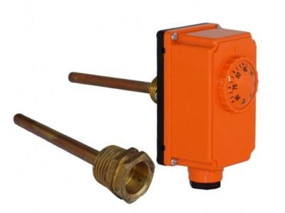 Врезной терморегулятор для бойлера