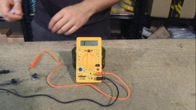 Проверка термостата специальным прибором