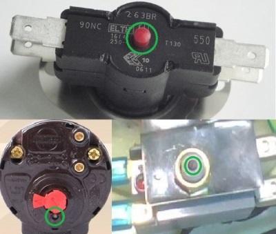 Ремонт термостата для бойлера