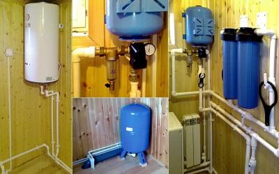 Разные водонагреватели для дачи