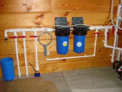 Фильтрация воды на даче
