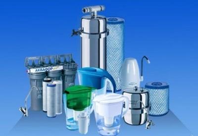 Фильтры для воды разного типа