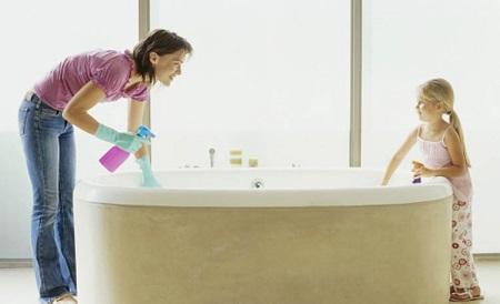 Чем чистить, мыть акриловую ванну: советы и обзор чистящих средств