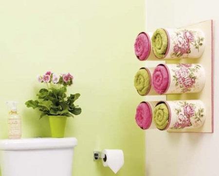 Места хранения полотенец