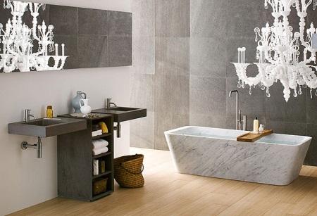 Ванная в стиле фьюжн