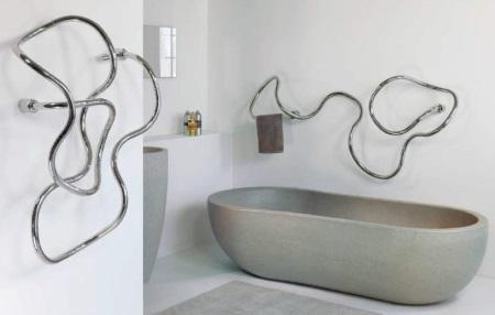 Как самостоятельно установить полотенцесушитель в ванной