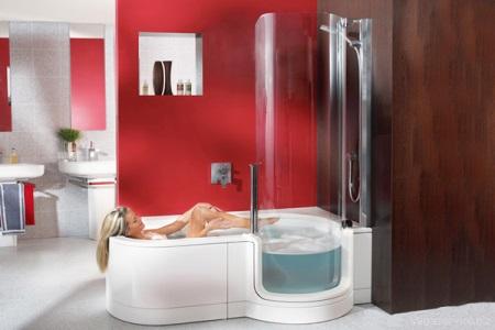 Ванная комната с душевой кабиной: дизайн и особенности интерьера