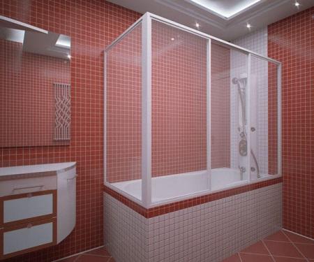 Ширма для ванной