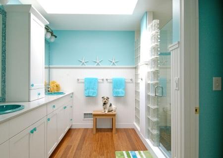 Ванная комната красивая и стильная