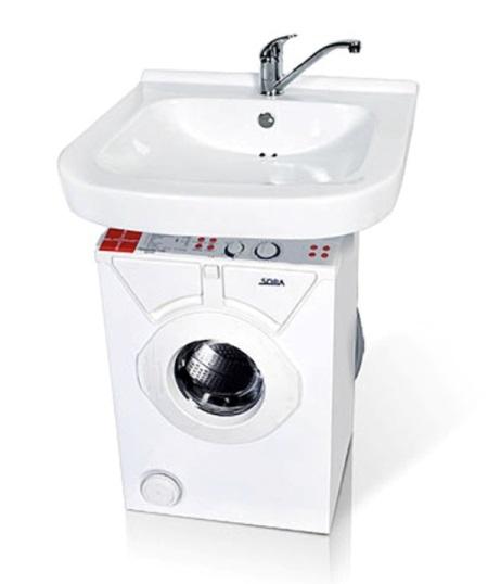 Раковина над стиральной машиной: особенности выбора, высота, размеры, установка