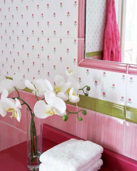 Гармонирующие элементы в ванной