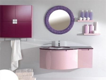 Розовый в сочетании с серым