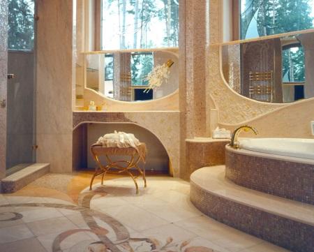 Ванная комната золотая