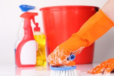 Очистить плитку в ванной