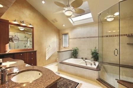 Освещение ванной комнаты по фен-шуй