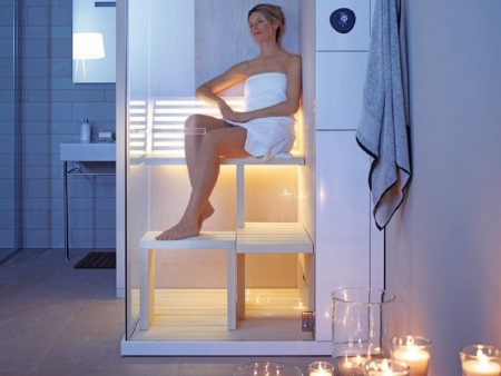 mini sauna. Black Bedroom Furniture Sets. Home Design Ideas