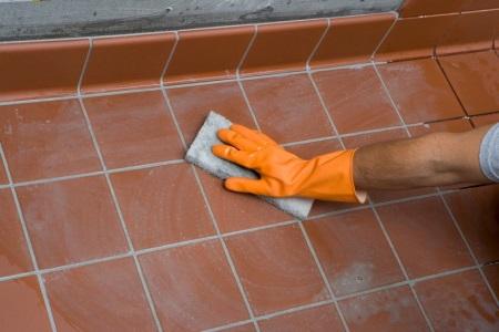 Эпоксидная затирка для плитки в ванной