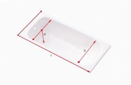 Сколько в ванной кубов воды