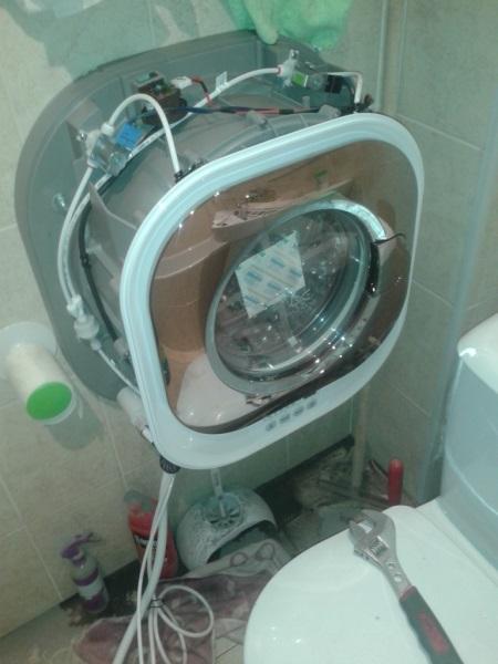 Навесная стиральная машина