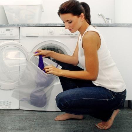Мешки для стирки белья в стиральной машине: чехол-сетка для стирки одежды