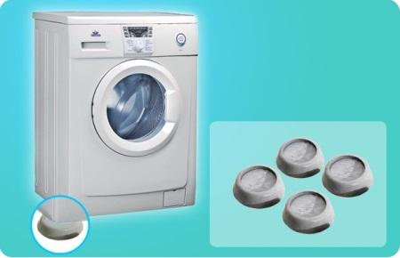 Подставки под стиральную машину: антивибрационные, резиновые и силиконовые, как отрегулировать ножки
