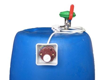 Как самому сделать бак для воды с нагревом