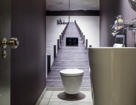 Behang Voor Toilet : Je toilet schilderen u een stijlvol plekje voor jezelf